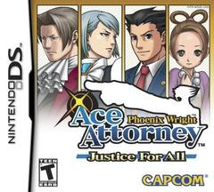 Phoenix Wright Ace Attorney Justice For All/phoenix Wright Ace Attorney Justice For All Cover