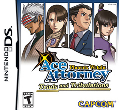 Phoenix Wright: Ace Attorney - Trials and Tribulations Cover
