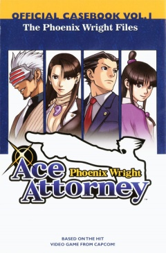 The Phoenix Wright Files: Vol 1 Cover