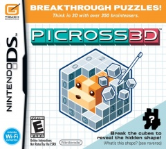 Picross 3d Cover
