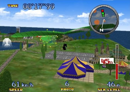 Pilotwings 64 Hang Glider Ibis Holiday Island