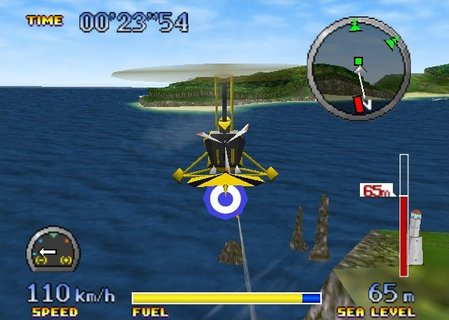 Pilotwings 64 Hawk Gyrocopter Rockets