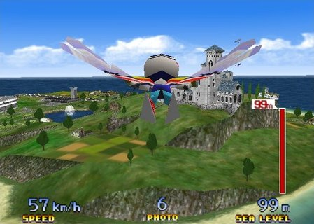 Pilotwings 64 Lark Birdman Free Flight