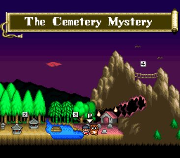 Pocky And Rocky Overworld Cemetery Mystery
