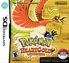 Pokemon Heartgold Cover
