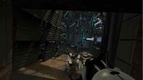 Portal 2 Rubble Walls