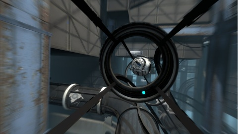 Portal 2 Wheatley Tube