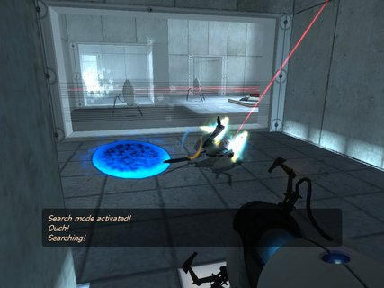 Portal Drone Gun Searching Owned