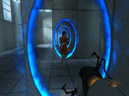 Portal Infinite Portal Chells Awesome