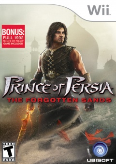 Prince of Persia Forgotten Sands Cover