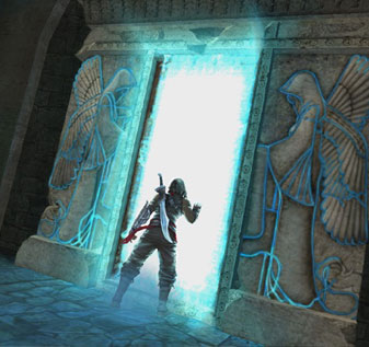 Prince of Persia Forgotten Sands Enter