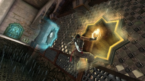 Prince of Persia Forgotten Sands Hooks
