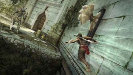 Prince of Persia Forgotten Sands Wallrun