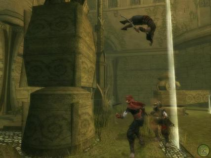 Prince Of Persia Warrior Within Back Flip