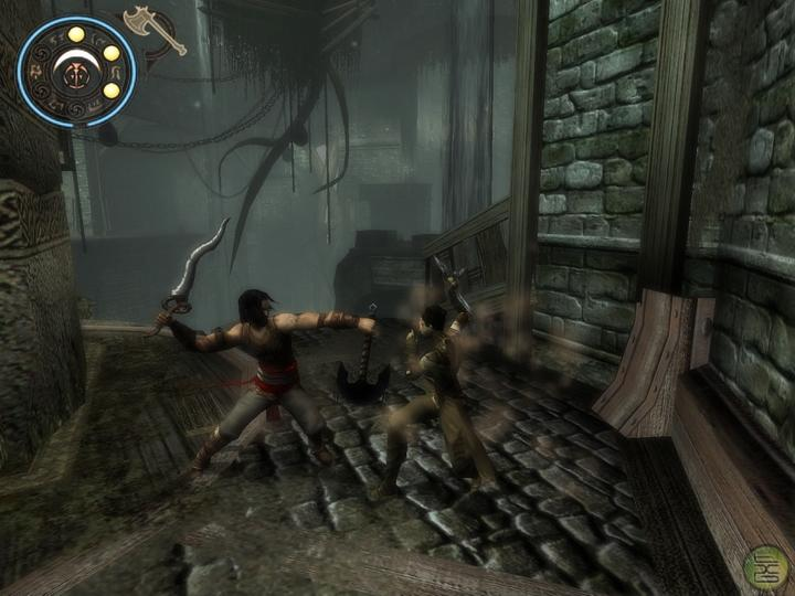 prince of persia warrior within. 03 - Cut to the Prince on a