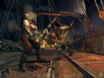 Prince Of Persia Warrior Within Ship Fight