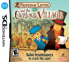 Professor Layton and the Curious Village Cover