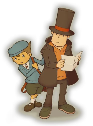 Professor Layton And The Curious Village Luke