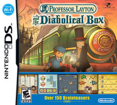 Professor Layton and the Diabolical Box Cover