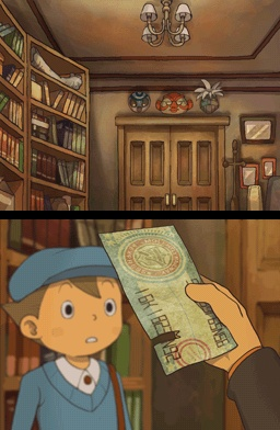 Professor Layton And The Diabolical Box Luke Ticket