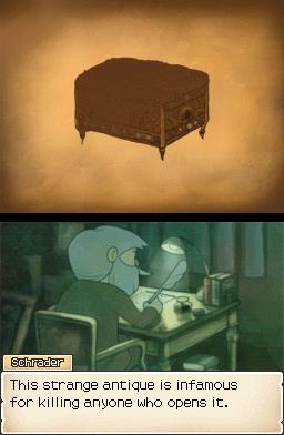 Professor Layton And The Diabolical Box Schrader