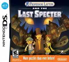 Professor Layton and the Last Specter Cover