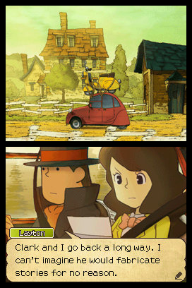 Professor Layton and the Last Specter Emmy car