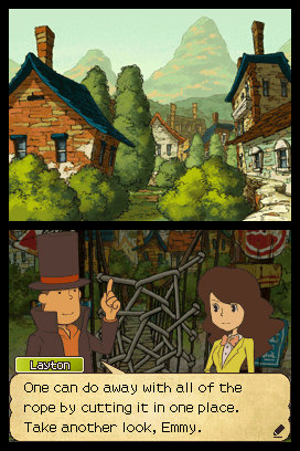 Professor Layton and the Last Specter Emmy Rope