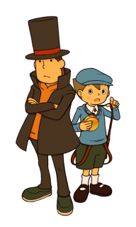 Professor Layton and the Unwound Future Luke Stopwatch