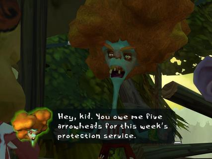 Psychonauts Carrot Top Bobby Zilch