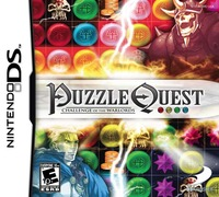 Puzzle Quest Challenge Of The Warlords/puzzle Quest Challenge Of The Warlords Cover