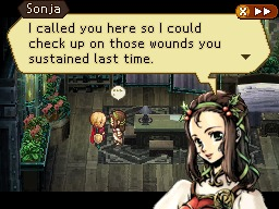 Radiant Historia Sonja Talking