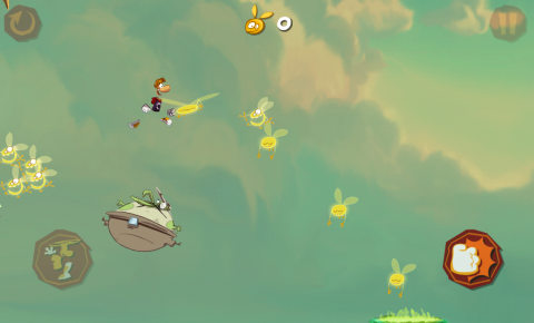 Rayman Jungle run Leap