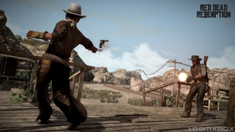 red Dead Redemption John Marston gun Fight