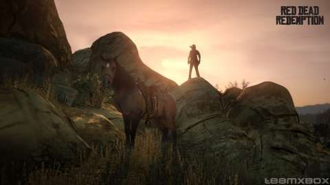 red Dead Redemption John Marston Rock Horse