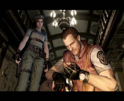 Resident Evil Jill and Barry