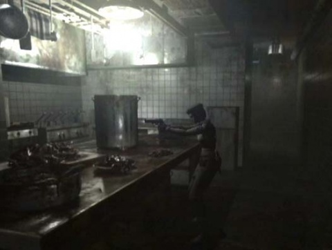 Resident Evil Jill in the Kitchen