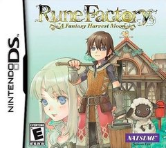 Rune Factory: A Fantasy Harvest Moon Cover