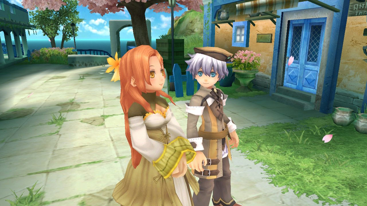 Rune Factory Tides of Destiny Aden Lily Walk