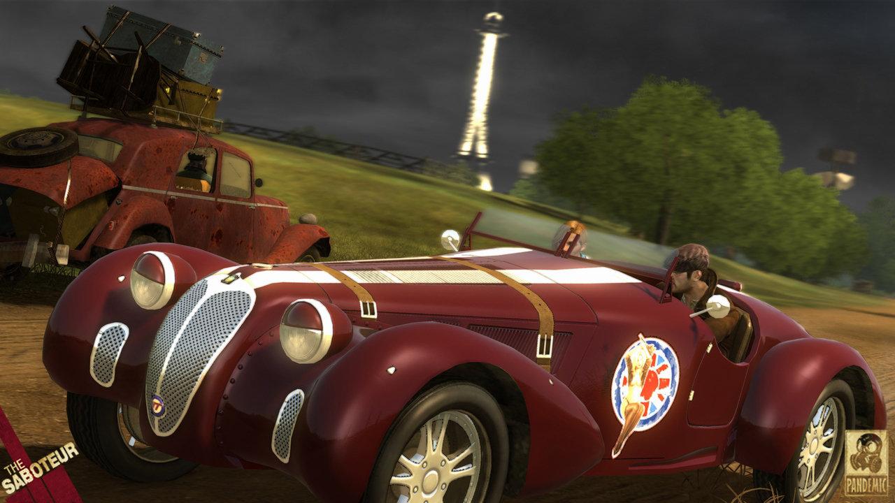 The Saboteur Race Cars