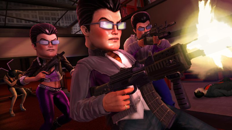Saints row the Third Johnny gat big Head Bank Heist