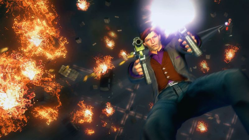 Saints row the Third Skydiving Explosions
