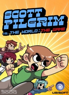 Scott Pilgrim vs. The World: The Game Cover
