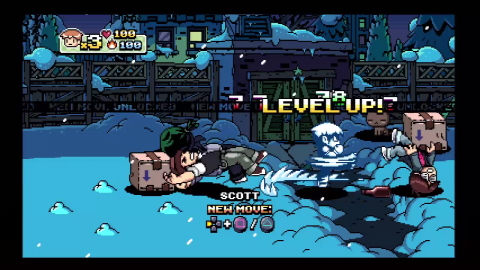 Scott Pilgrim vs World Levelup