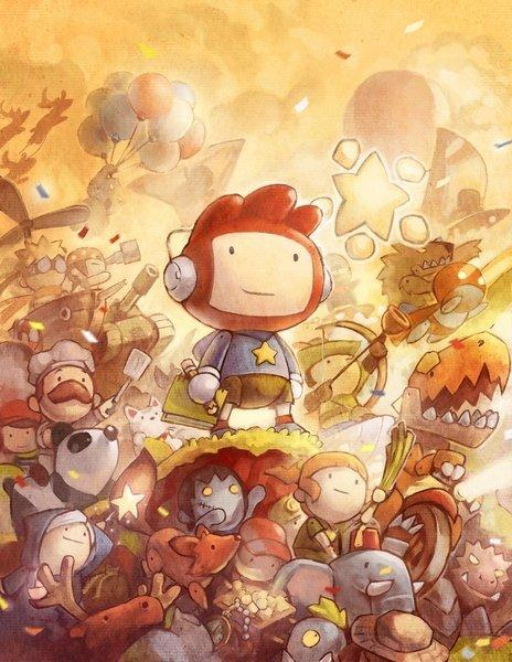 Scribblenauts Cast Art