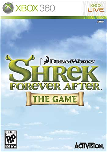 Shrek Forever After the Game Cover