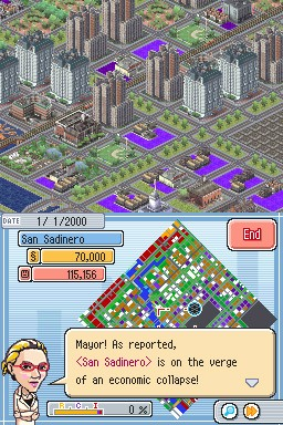 Simcity ds Economic Collapse