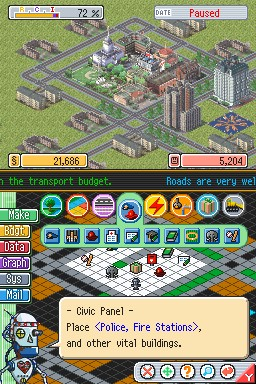 Simcity ds Police Fire