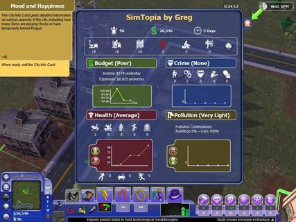Simcity Societies City Info Simtopia