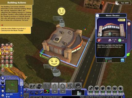 Simcity Societies Movie Theater